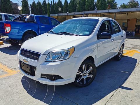 Chevrolet Aveo LT usado (2012) color Blanco precio $114,000