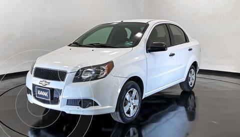 Chevrolet Aveo LS Aa usado (2015) color Blanco precio $119,999