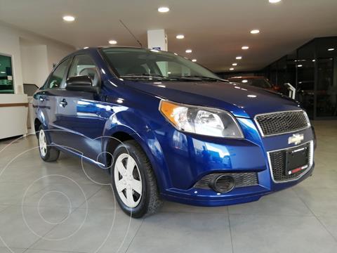 Chevrolet Aveo LS Aa usado (2017) color Azul precio $129,800