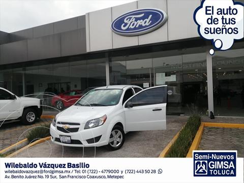 Chevrolet Aveo LS MANUAL usado (2018) color Blanco precio $138,001