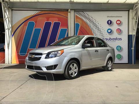 Chevrolet Aveo LS (Nuevo) usado (2018) color Plata precio $54,000