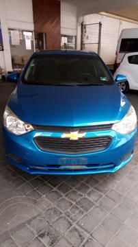 Chevrolet Aveo LS usado (2019) color Azul precio $185,900