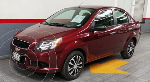 Chevrolet Aveo LT Aut usado (2015) color Rojo precio $109,000