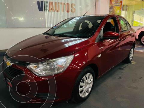 Chevrolet Aveo LT  usado (2019) color Rojo precio $158,000