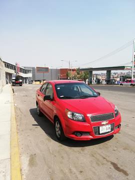 Chevrolet Aveo Paq A usado (2012) color Rojo precio $80,000