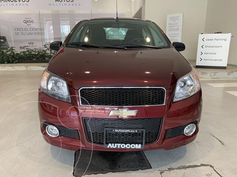 Chevrolet Aveo LTZ Aut usado (2017) color Marron precio $135,000