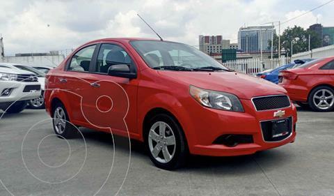 Chevrolet Aveo LT usado (2017) color Rojo precio $155,990