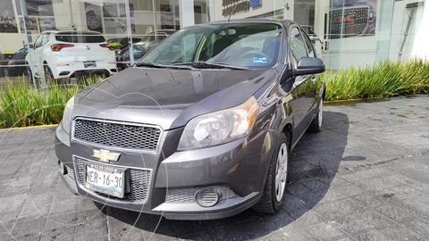 Chevrolet Aveo LT usado (2017) color Gris Oscuro precio $139,000