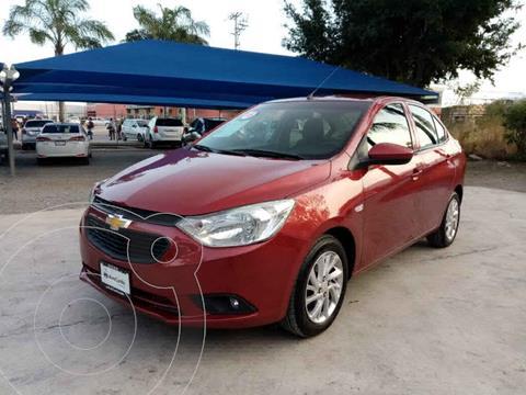 Chevrolet Aveo LT Aut usado (2018) color Rojo precio $165,000