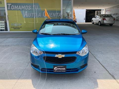Chevrolet Aveo LS Aa usado (2019) color Azul precio $185,000