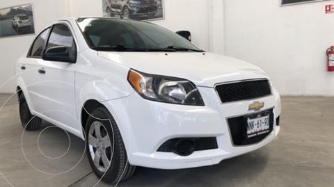 Chevrolet Aveo 1.6 Ls L4 At usado (2015) color Blanco precio $125,000