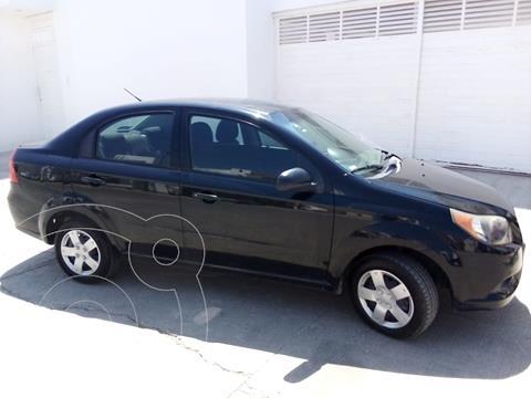 Chevrolet Aveo Paq M usado (2013) color Negro Grafito precio $87,000