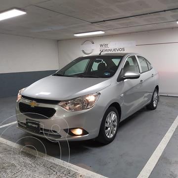 Chevrolet Aveo LT Bolsas de Aire y ABS (Nuevo) usado (2018) color Plata precio $155,000
