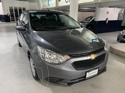 Chevrolet Aveo LS usado (2020) color Gris Oscuro precio $206,000