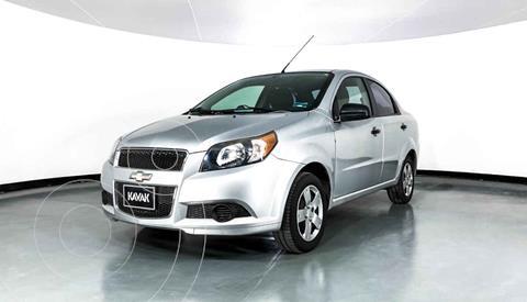 Chevrolet Aveo LS Aa Radio y Bolsas de Aire Aut (Nuevo) usado (2015) color Plata precio $114,999