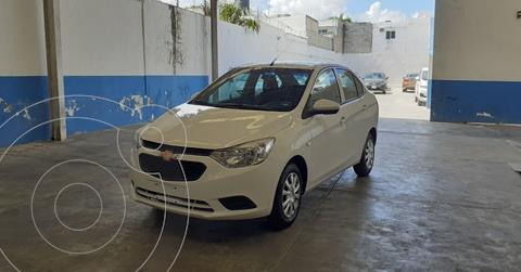 Chevrolet Aveo LS Aa usado (2020) color Blanco precio $168,900