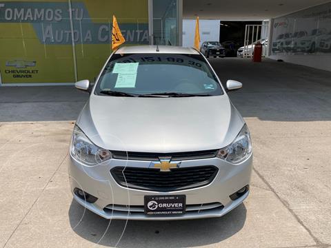 Chevrolet Aveo LT usado (2020) color Plata Dorado precio $225,000