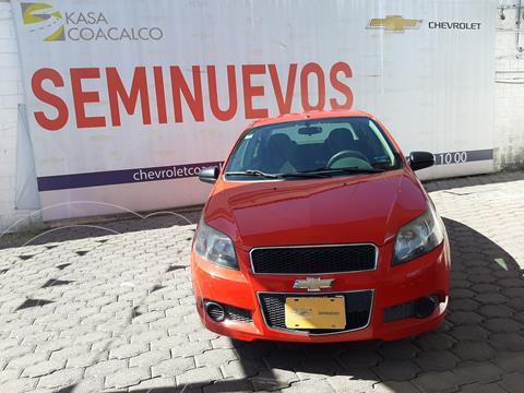Chevrolet Aveo LS usado (2016) color Rojo precio $120,000
