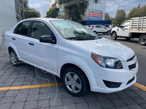 Chevrolet Aveo LS Aa usado (2018) color Blanco precio $156,500