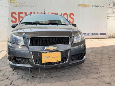 Chevrolet Aveo LT Aut usado (2015) color Gris precio $130,000