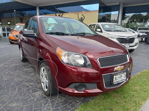 Chevrolet Aveo LT Aut usado (2017) color Rojo precio $170,000