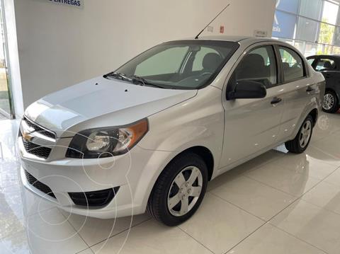 Chevrolet Aveo LS usado (2018) color Plata Dorado precio $142,000