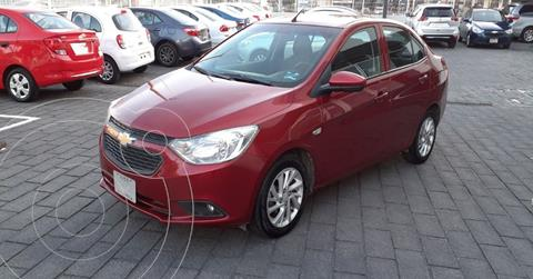 Chevrolet Aveo LT Aut usado (2019) color Rojo precio $154,900