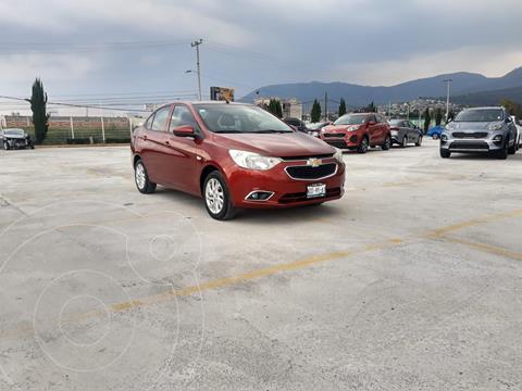 Chevrolet Aveo LTZ usado (2018) color Rojo precio $199,100