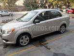 Foto venta Auto usado Chevrolet Aveo Paq B (2012) color Plata precio $83,000