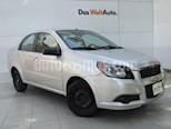 Foto venta Auto usado Chevrolet Aveo Paq C (2013) color Plata precio $98,000