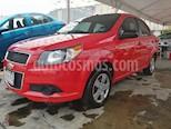 Foto venta Auto usado Chevrolet Aveo Paq M (2016) color Rojo Merlot precio $105,000