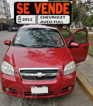 Chevrolet Aveo 1.4L Aut usado (2011) color Rojo Flama precio u$s6,800