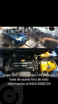 Chevrolet Aveo Sedan 1.6 AT usado (2007) color Azul precio u$s3.700