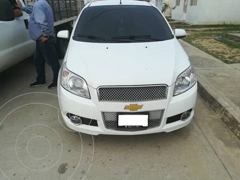 Chevrolet Aveo 1.6L Aut usado (2015) color Blanco precio u$s7.800