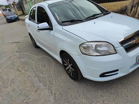 Chevrolet Aveo 1.6L usado (2013) color Blanco Glaciar precio u$s4.700