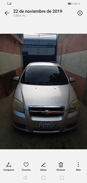 Chevrolet Aveo 3P 1.6L Aut usado (2012) color Plata precio BoF202