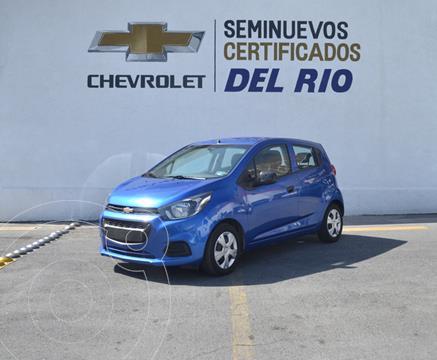 Chevrolet Beat Hatchback LT usado (2020) color Azul precio $190,000