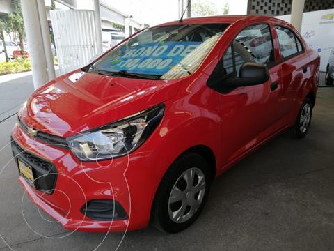 Chevrolet Beat Hatchback LT usado (2021) color Rojo precio $184,000