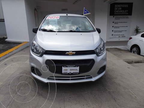 Chevrolet Beat Hatchback Version usado (2020) color Plata precio $219,000