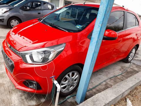 Chevrolet Beat Hatchback Version usado (2020) color Rojo precio $182,900