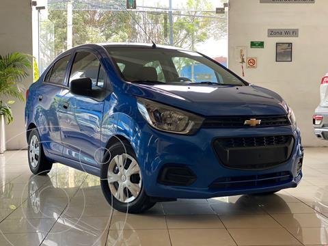 Chevrolet Beat Hatchback LT usado (2020) color Azul Acero precio $190,000
