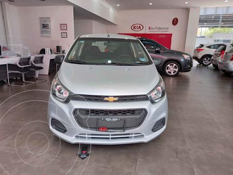 Chevrolet Beat Hatchback LT usado (2019) color Plata precio $139,000