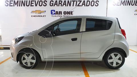Chevrolet Beat Hatchback LS usado (2020) color Plata financiado en mensualidades(enganche $41,250 mensualidades desde $3,573)