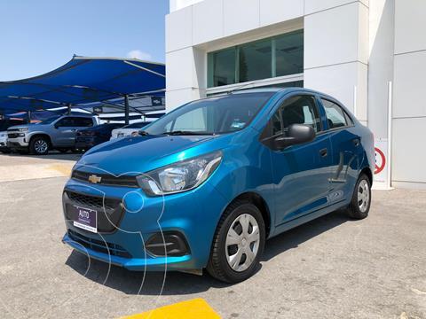 Chevrolet Beat Hatchback LT usado (2020) color Azul precio $195,000