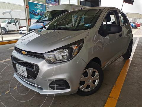 Chevrolet Beat Hatchback LT usado (2021) color Plata Brillante financiado en mensualidades(enganche $50,000 mensualidades desde $4,698)