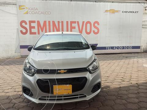 Chevrolet Beat Hatchback LT usado (2019) color Plata Dorado precio $160,000