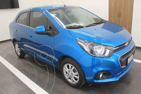 Chevrolet Beat Hatchback Version usado (2020) color Azul precio $209,000