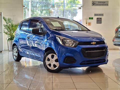 Chevrolet Beat Hatchback LT usado (2021) color Azul Indigo precio $200,000