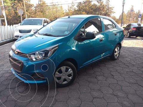 Chevrolet Beat Hatchback LT usado (2020) color Azul precio $175,000