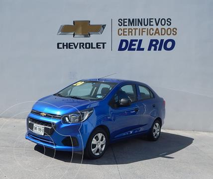 Chevrolet Beat Hatchback LS usado (2020) color Azul precio $178,000